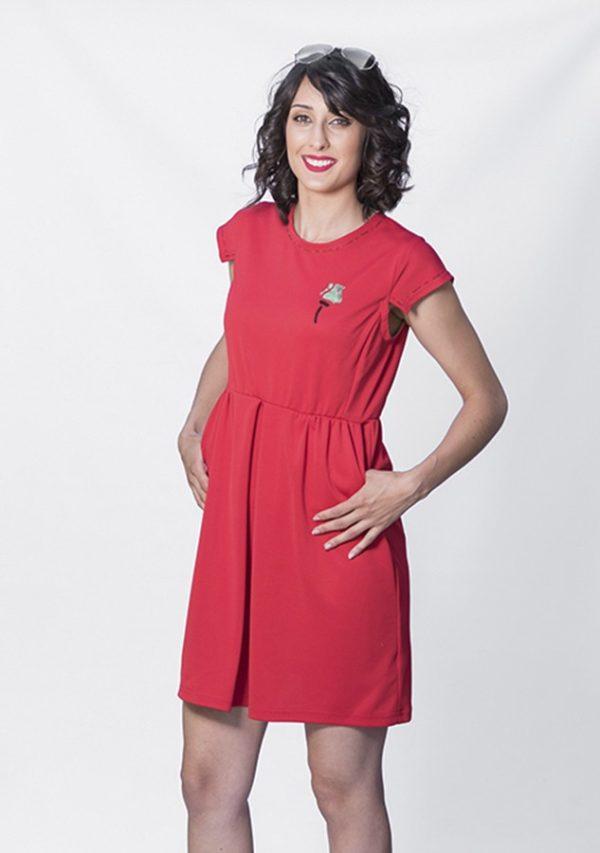 vestido-rojo-elegante
