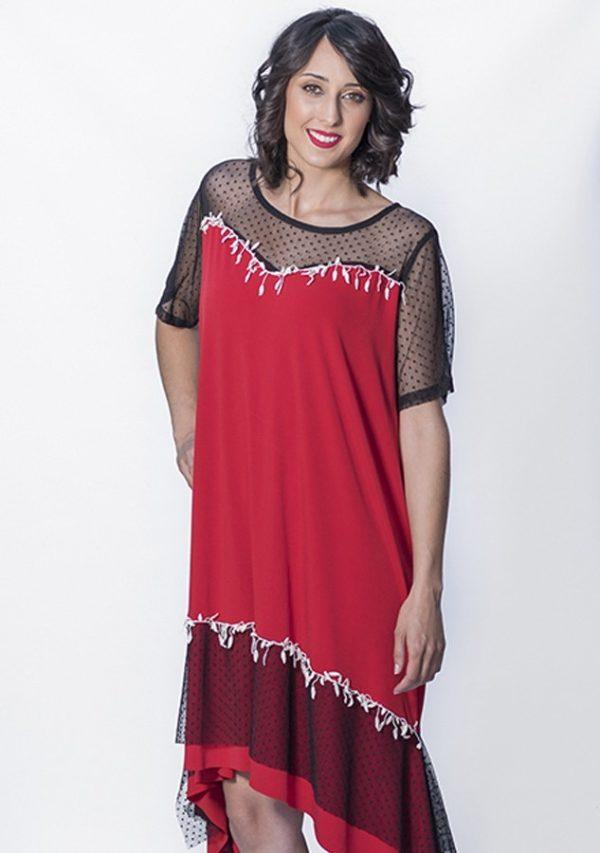 vestido-rojo-de-tul-vestido-de-chica