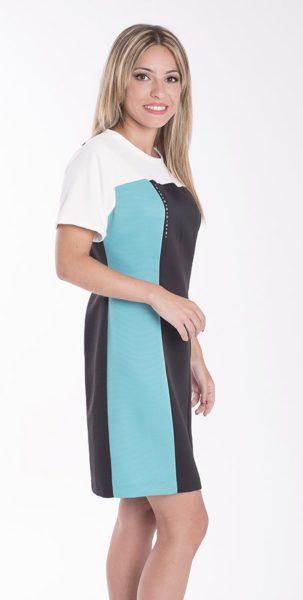 vestido-ajustado-multicolor