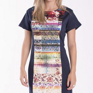 vestido-de-talla-grande-colorido
