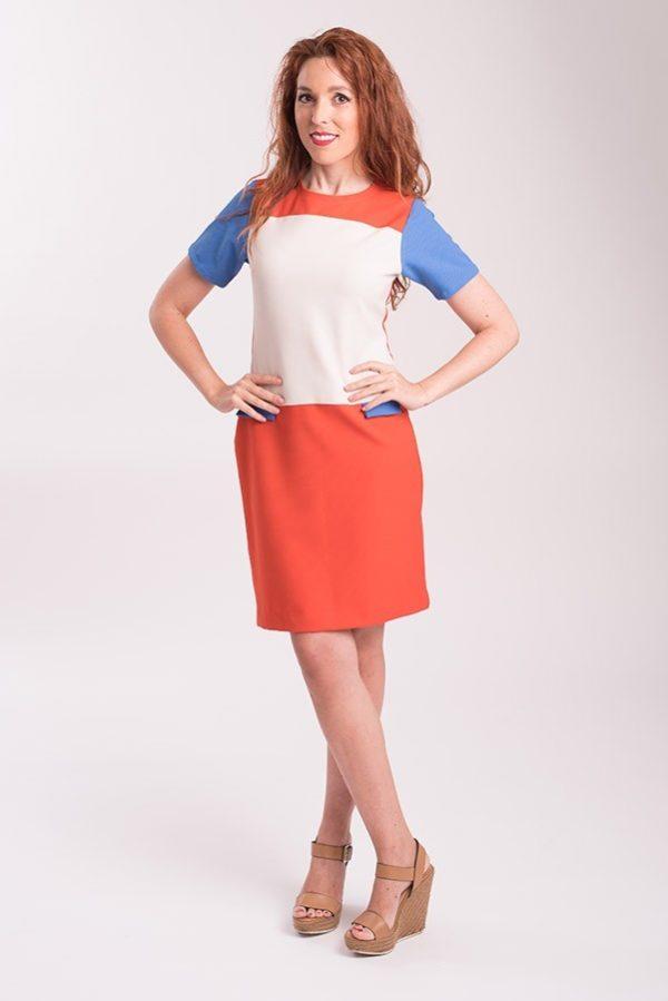 vestido-de-verano-tricolor-multicolor