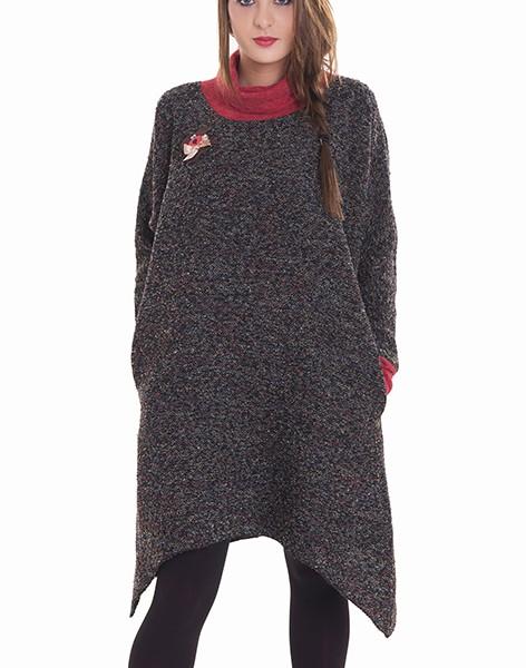 vestido-punto-peluso-invierno