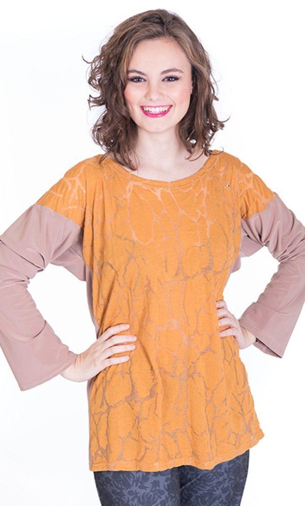 camiseta-algodon-teja-mostaza