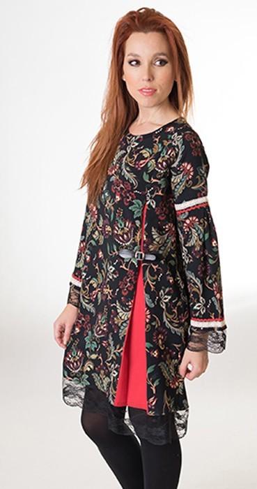 vestido-de-florecillas-tallas-grandes