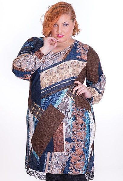 vestido-talla-grande-estampado-irregular