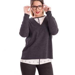 jersey-manga-larga-escote-V