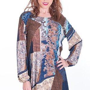vestido-tonos-marrones-tallas-grandes