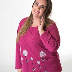 camiseta-rosa-chicle-fucsia