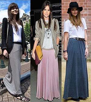 faldas-largas-de-moda faldas largas de moda