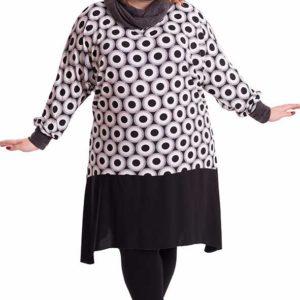 vestido-blanco-negro-circulos