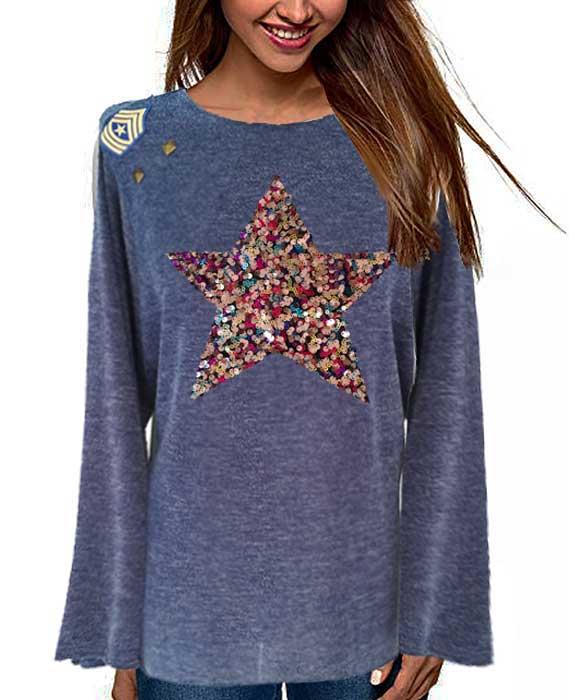 jersey-mujer-talla-46-azul