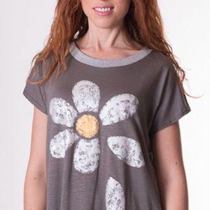 camiseta-de-mujer-margarita-dibujo-petalos