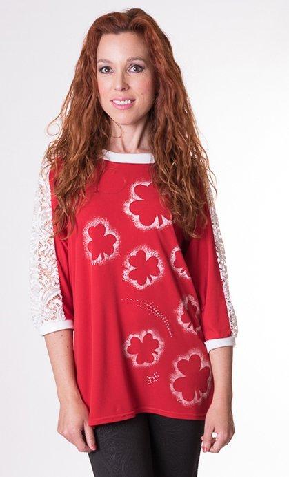 camiseta-manga-murcielago-roja-trebol