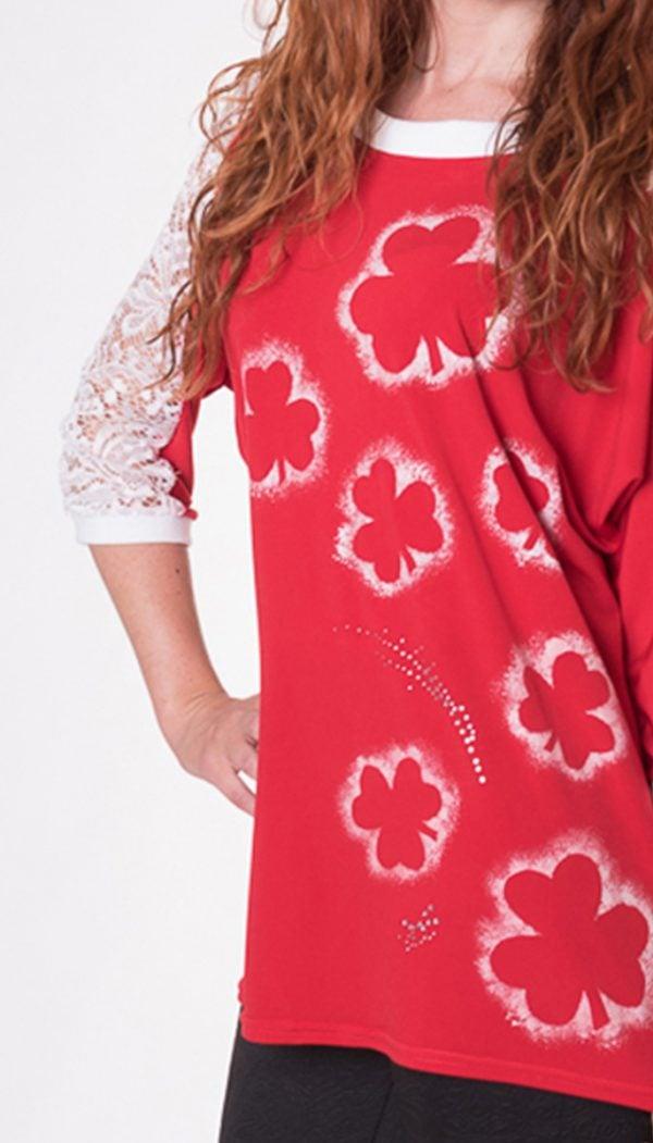 camiseta-manga-murcielago-roja