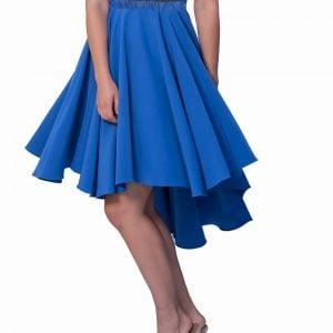 falda-asimetrica-azul-con-cola