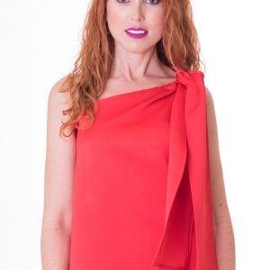 blusa-asimetrica-rojo-bermellon