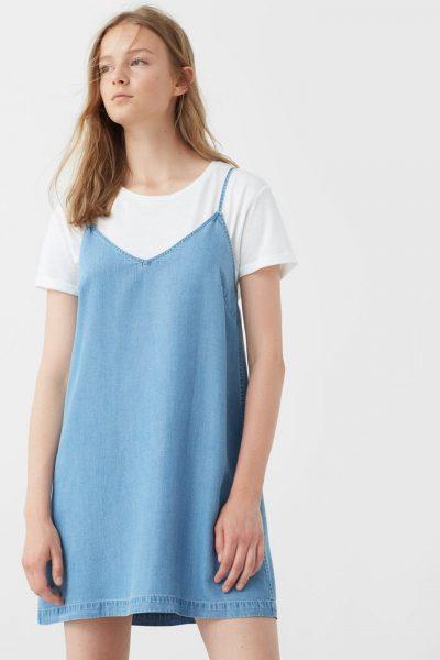 vestido con camiseta lo mejor para el agosto
