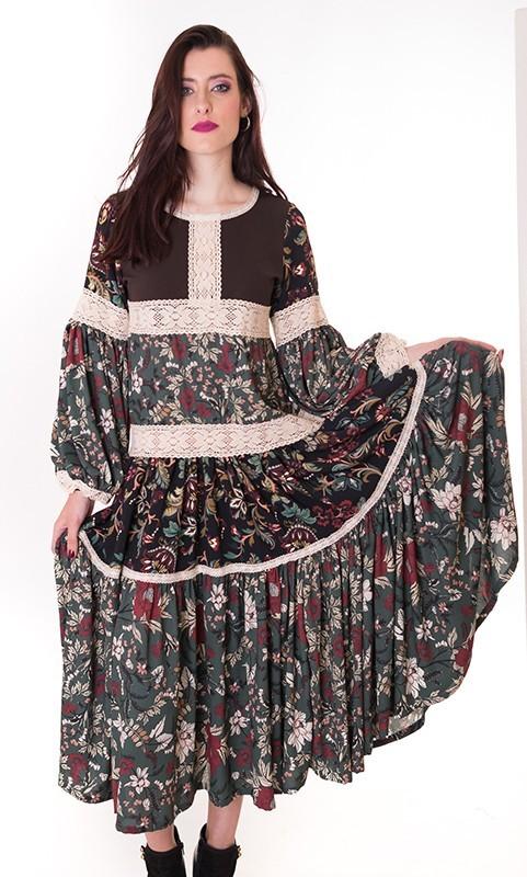 vestido-de-flores-midi-vestido-de-invierno