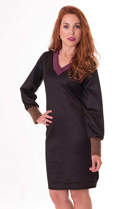 vestido-negro-ajustado