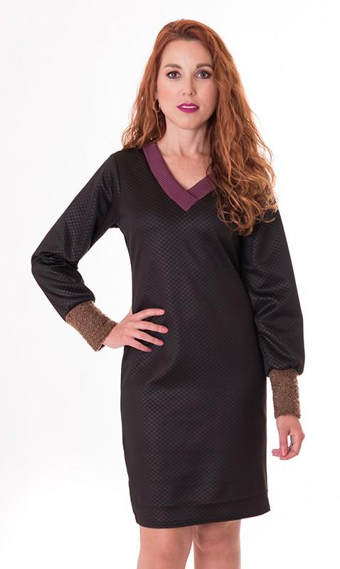 vestido-negro-manga-larga