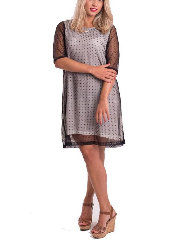 vestido-tul-manga-francesa