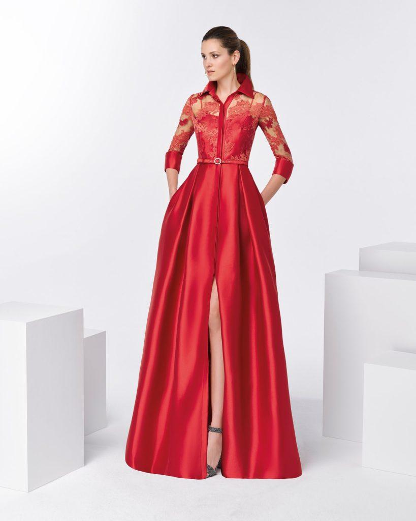 vestido-camisero-talla-grande-de-invitada