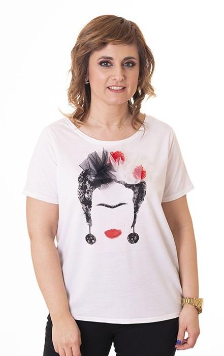 camiseta-frida-kahlo-blanca