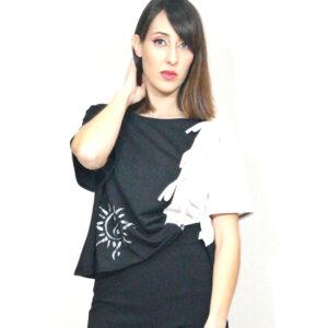 camiseta-mujer-blanco-y-negro