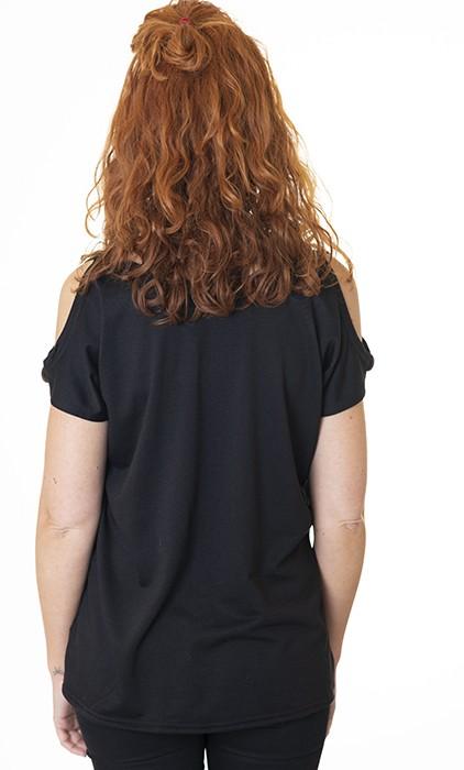 camiseta-negra-chula-diferente