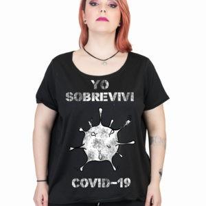 camiseta-negra-talla-grande-covid-19-furor