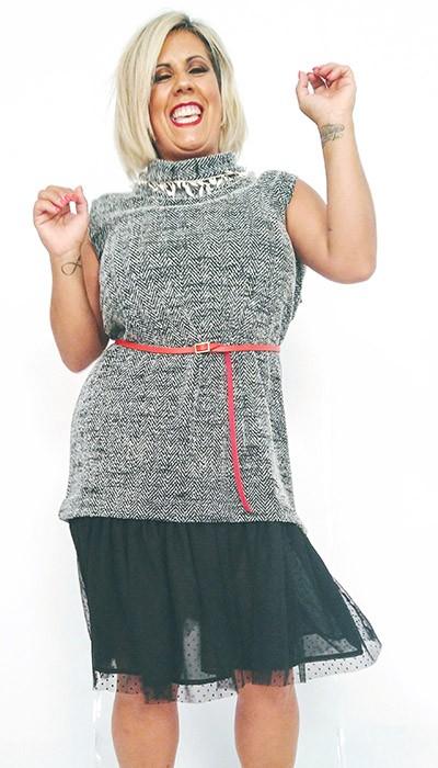 vestido-de-mujer-con-falda-plumeti