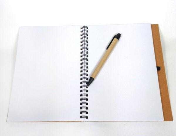 libreta-papel-reciclado-boli-personalizada-dia-de-la-madre