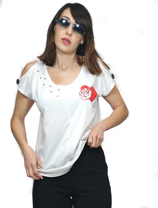 camisetas-chulas-de-mujer-blanca